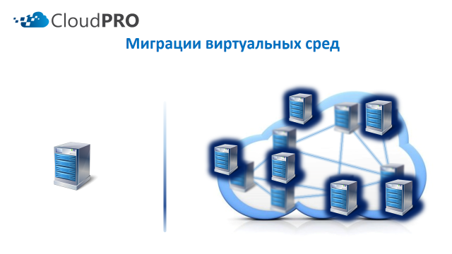 Преимущества облачного сервера - миграция